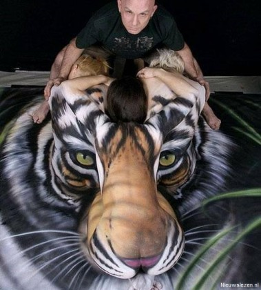 Mooiere tijger zal je niet snel tegenkomen