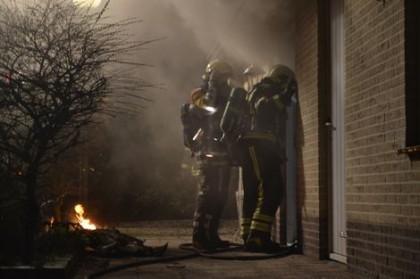 Brandend chalet eist dode in Ermelo
