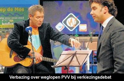 'Zelfspot ver te zoeken bij PVV'
