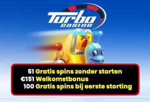 online gokken met een turbo casino bonus